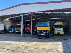 Inchiriere camion - trailer